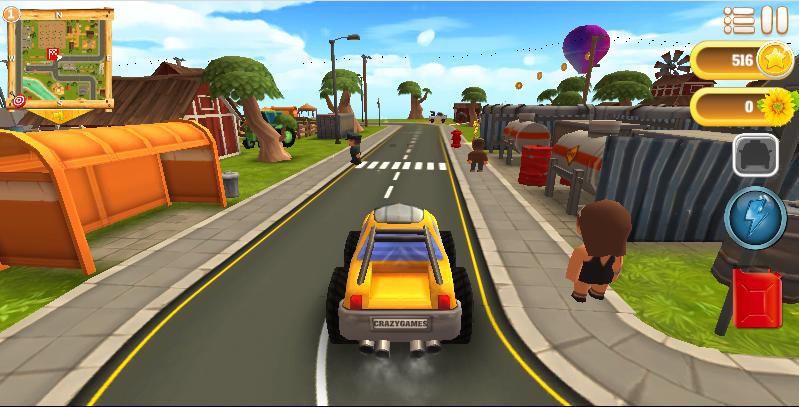 Zdjęcie Cartoon Hot Racer 3D