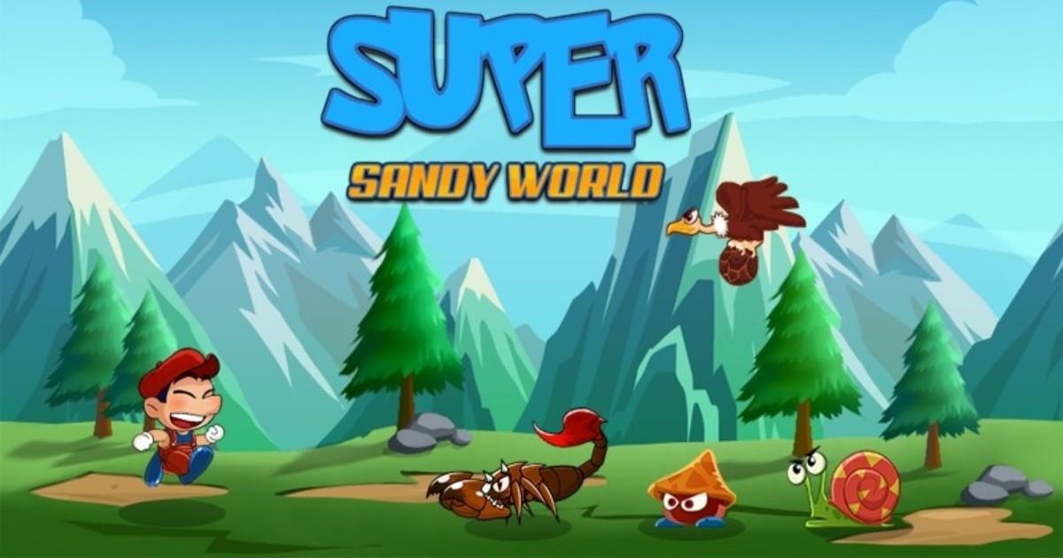 Zdjęcie Super Sandy World! - platformówki online