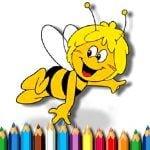 Pszczółka Maja – kolorowanka
