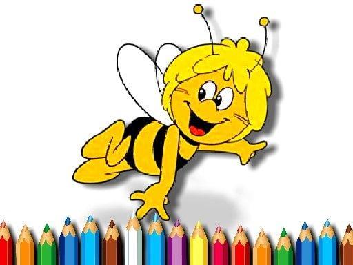 Pszczółka Maja - kolorowanka