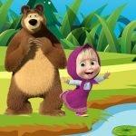 Masza i Niedźwiedź – puzzle online