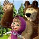 Masza i Niedźwiedź – puzzle