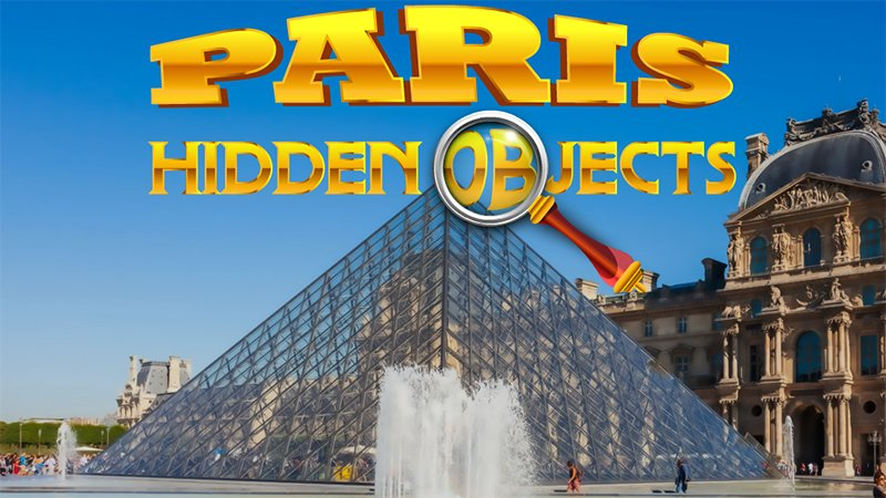 Zdjęcie Gra ukryte obiekty - Paryż