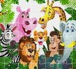 Gry dla dzieci – Król dżungli – puzzle